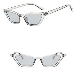 d0cbdbabd54c House Of Saddity. Silver Mirrored Sunglasses 🕶